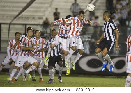 Rio de Janeiro Brasil - April 09 2016: Magnum player in match between Vasco da Gama and Madureira by the Carioca championship in the S