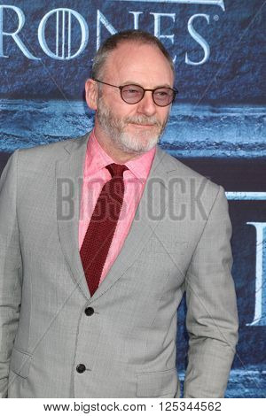 LOS ANGELES - APR 10:  Liam Cunningham at the Game of Thrones Season 6 Premiere Screening at the TCL Chinese Theater IMAX on April 10, 2016 in Los Angeles, CA