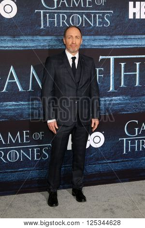LOS ANGELES - APR 10:  Michael McElhatton at the Game of Thrones Season 6 Premiere Screening at the TCL Chinese Theater IMAX on April 10, 2016 in Los Angeles, CA
