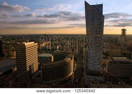Warsaw City High View