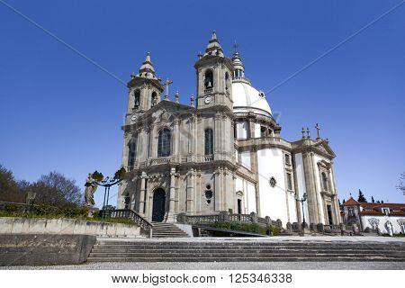 Sanctuary of Sameiro in Braga, north of Portugal