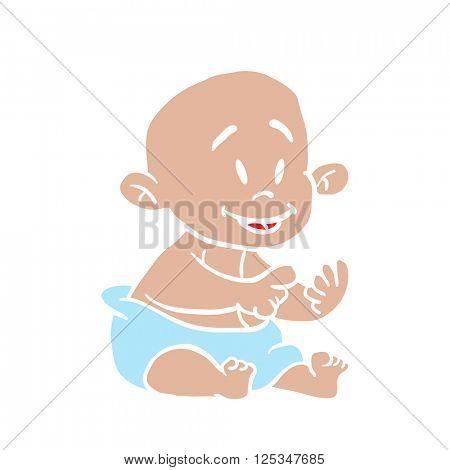 baby cartoon illustration