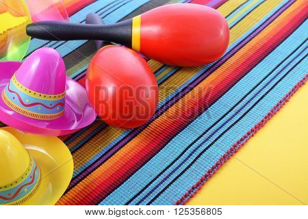 Vibrant Cinco De Mayo Background.