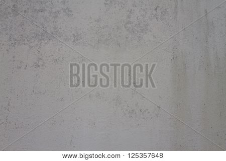 Grungy Gray-blue Background Of Decorative Plaster. Grey Ciment Texture