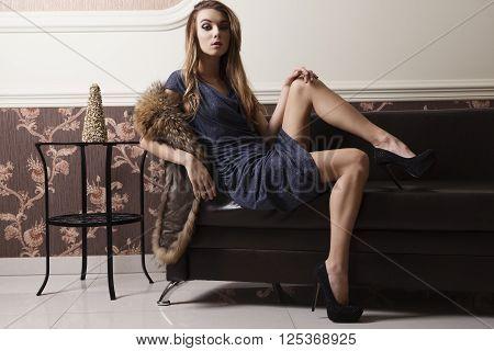 Charming Elegant Fashion Woman