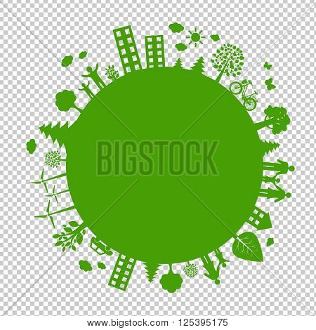 , Isolated on Transparent Background, With Gradient Mesh, Vector Illustration