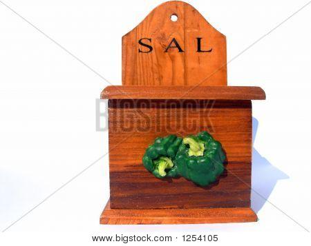 Traditional Saltshaker