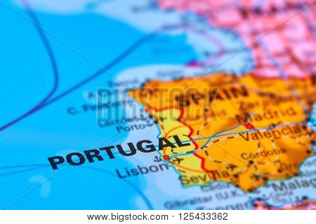 Portugal On The Map
