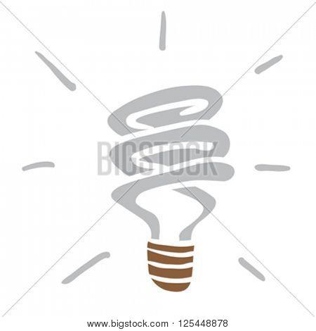 light saving bulb cartoon
