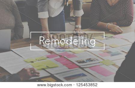Remodeling Improvement Maintenance Renovation Concept