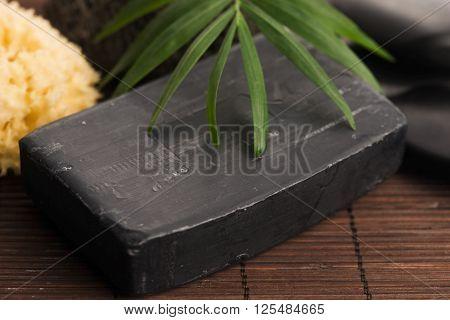 Block Of Natural Carbon Soap