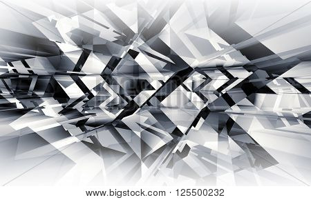 Abstract Geometric Digital Background Pattern