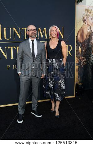 LOS ANGELES - APR 11:  Cedric Nicolas-Troyan at the The Huntsman Winter's War American Premiere at the Village Theater on April 11, 2016 in Westwood, CA