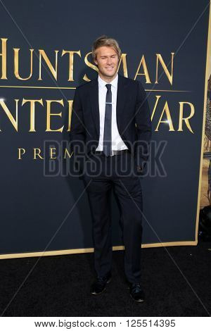 LOS ANGELES - APR 11:  James Travena-Brown at the The Huntsman Winter's War American Premiere at the Village Theater on April 11, 2016 in Westwood, CA
