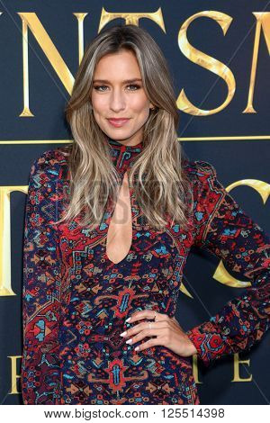 LOS ANGELES - APR 11:  Renee Bargh at the The Huntsman Winter's War American Premiere at the Village Theater on April 11, 2016 in Westwood, CA