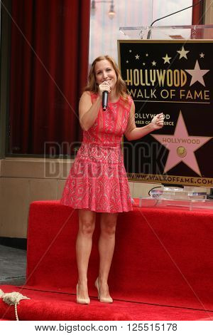LOS ANGELES - APR 11:  Tiffany Engen at the Harvey Fierstein and Cyndi Lauper Hollywood Walk of Fame Ceremony at the Pantages Theater on April 11, 2016 in Los Angeles, CA