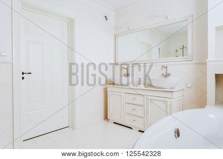 Bathroom In A Hotel