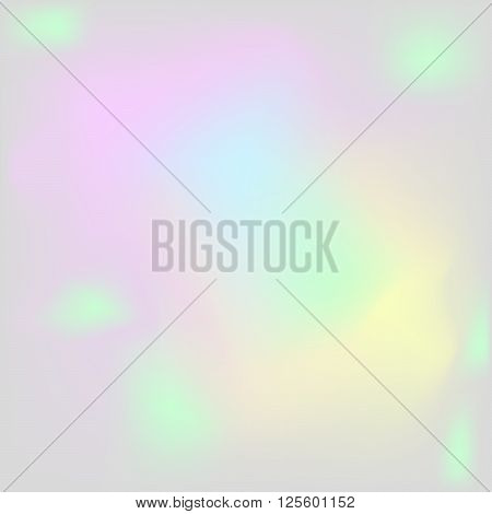 Holographic pearl background. Iridescent hologram chatoyant backdrop. Nacreous pearl texture paper.