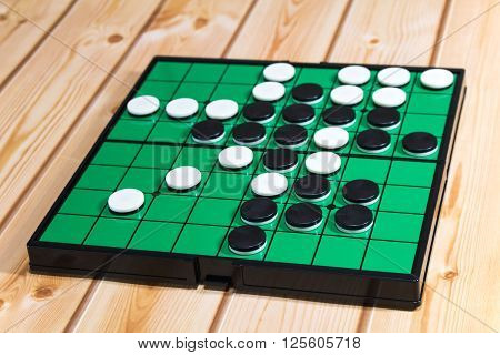 An Othello is the board game which can be enjoyed casually.