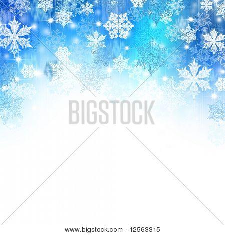 Beautiful Winter Border