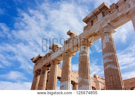 Parthenon's Columns