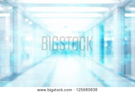 blue abstract technology background empty space blurred background