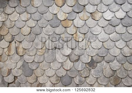 Grey decorative wall background texture close up