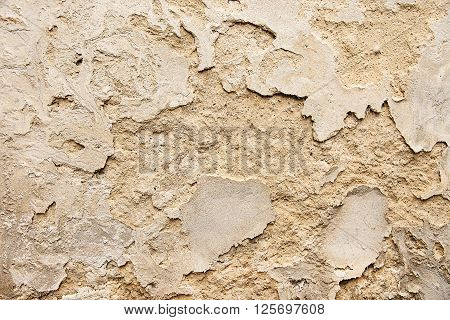 Old painted wall background texture close up