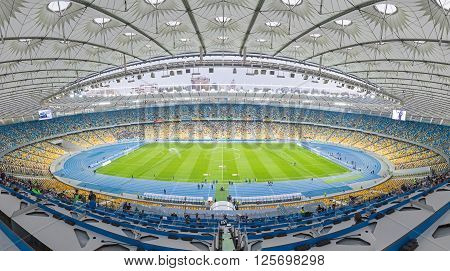 Nsc Stadium (nsc Olimpiyskyi) In Kyiv, Ukraine