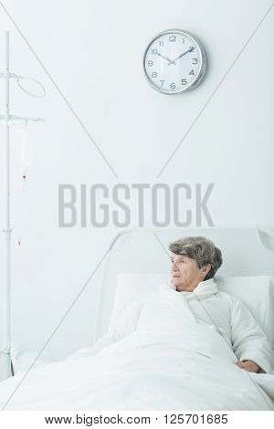Geriatric Ward Patient