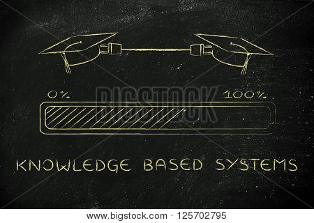 Graduation Caps Connected By Plug, Knowledge Based Systems