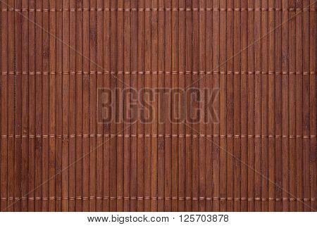 Texture of woven bamboo. Bamboo napkin, texture of natural bamboo