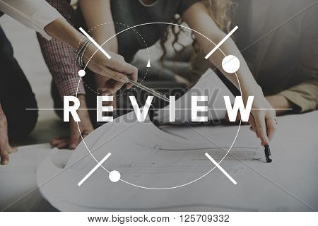 Review Reviewer Reviewing Auditing Evaluate Concept