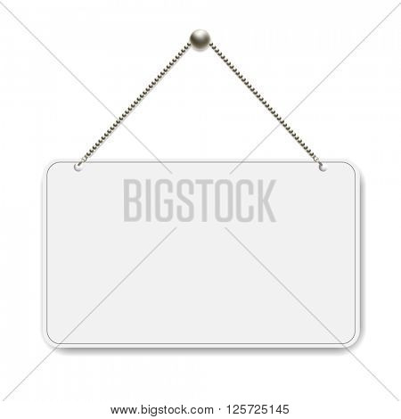 Open Sign With Gradient Mesh, Vector Illustration