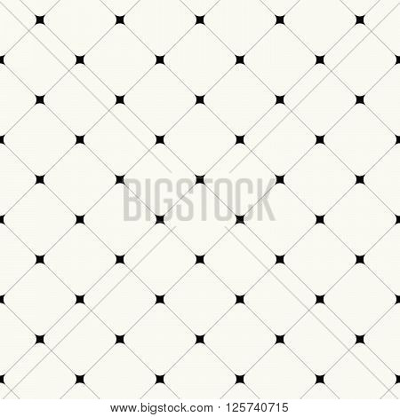 Simple Clean Modern Diagonal Tiles Background - Vector Seamless Pattern