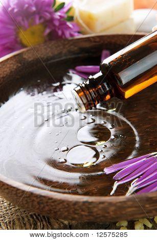 Aromatherapy.Essential oil.Spa treatment