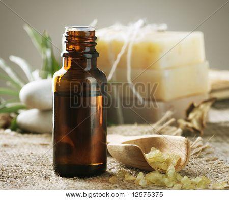 Spa treatment.Aromatherapy.Essence.