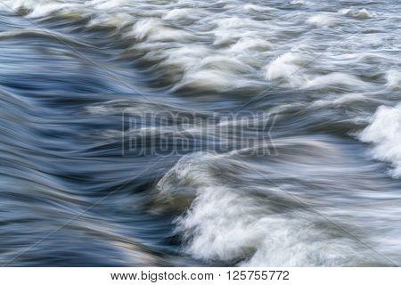 river rapid abstract - Cache la Poudre River in Fort Collins, Colorado