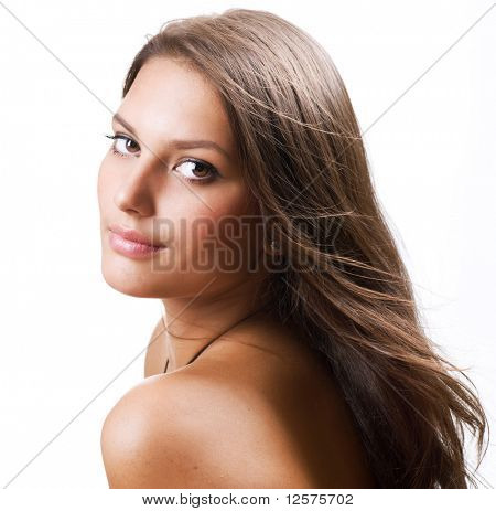 Beautiful Healthy Girl portrait