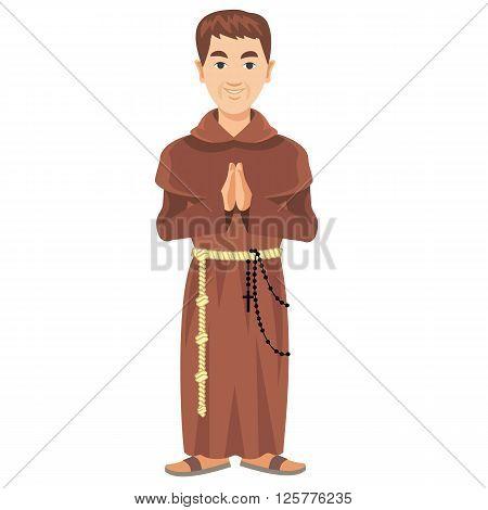 Franciscan Monk-01.eps
