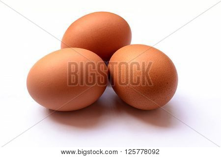 eggs isolated on white background. eggs isolated