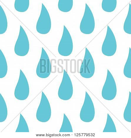 rainfall blue background. raindrop texture or wrapping. Vector