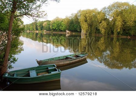 Boats at the Loiret