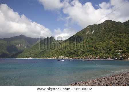 South End, Dominica