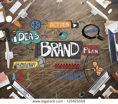 Brand Branding Strategy Marketing Creative Concept