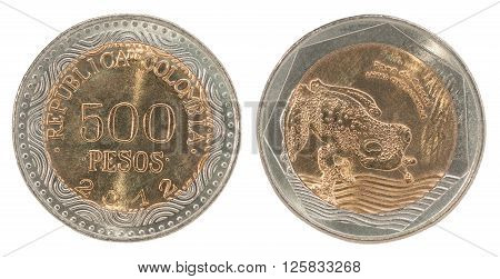 Colombia Pesos Coin Set