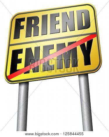 friend enemy best friends or worst enemies friendship