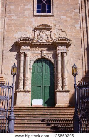 Facade of the Santuario di San Giuseppe Enna
