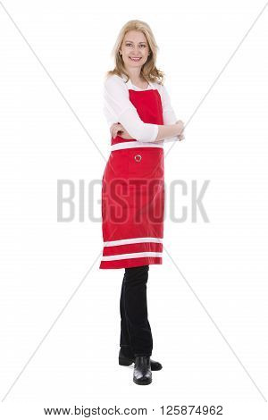 Female Cook In Apron
