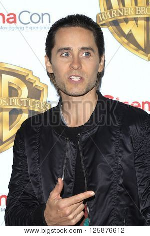 LAS VEGAS - APR 12: Jared Leto at the Warner Bros. Pictures Presentation during CinemaCon at Caesars Palace on April 12, 2016 in Las Vegas, Nevada